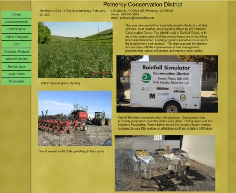 Pomeroy Conservation District