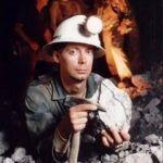 Tom in Golden Promise Mine 1980